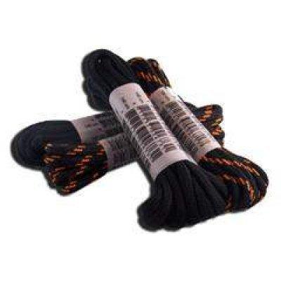 Veter rond zwart/oranje 110cm
