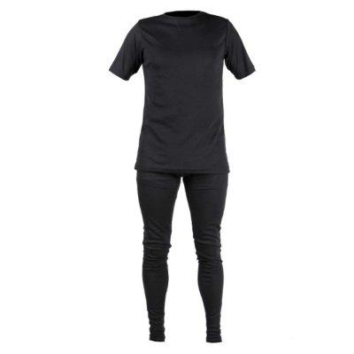 thermoshirt Bork kortemouw marine L