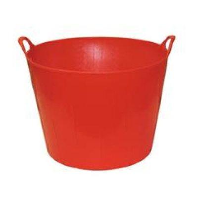 Mand flexibel FlexBag rood 42 liter
