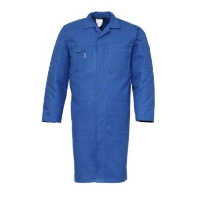 Stofjas katoen 4023 Havep rafblauw