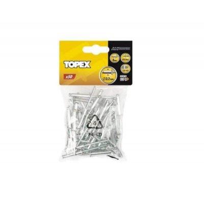 Topex Popnagels 3,2x8mm 50st