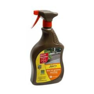 Mos en groene aanslagreiniger Natria spray 1000ml Bayer