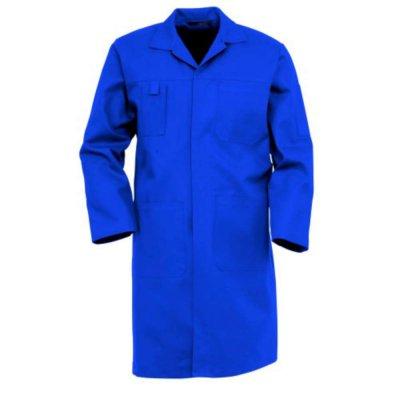Stofjas 4024 Katoen/Polyester Havep rafblauw