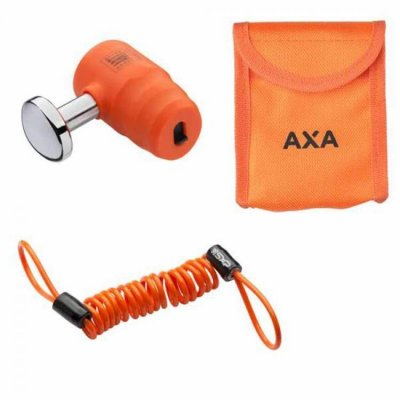 AXA Problock set ART 4 13 mm tas met reminder kabel