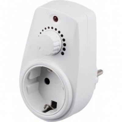 Stekkerdimmer 20-300 watt wit
