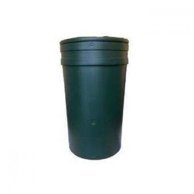 Regenton donkergroen 114 liter