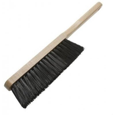 Behangborstel zwart