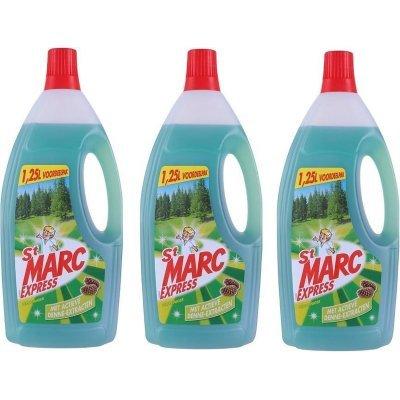 St Marc express vloeibaar 1.25 Liter 3 Stuks