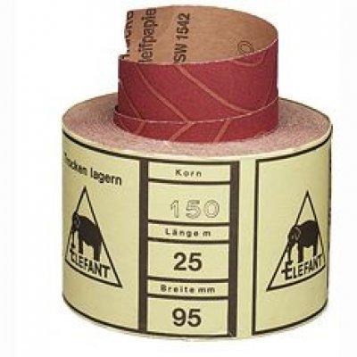 Schuurpapier spanlucken middel 2 meter 115mm