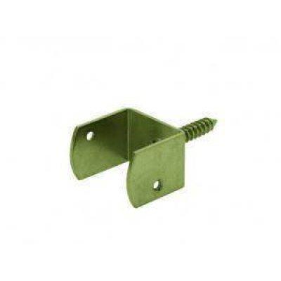 u-vlechtschermsteun 38mm geel