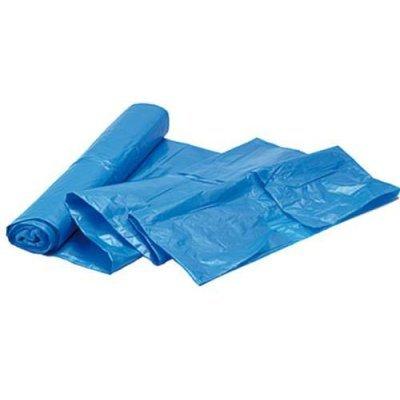 Vuilniszakken huisvuil pe blauw 70x110cm