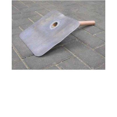 Plakplaat lood 25 ponds 45 graden zonder kiezel 25x25cm