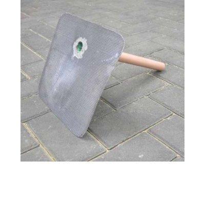 Plakplaat lood 25 ponds 90 graden zonder kiezel 25x25cm