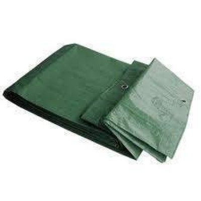Cover dekkleed groen pe 6x8 meter extra dik