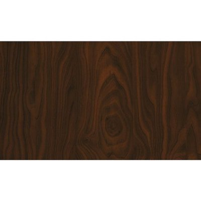 Decoratiefolie hout donker bruin 45cm