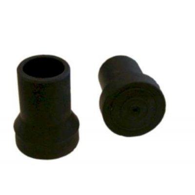 wandelstokdop 18-19mm zwart
