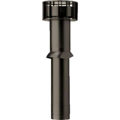Ubbink MultiVent ventilatiepijp Ø131 L750mm bd350/od400 met schaal zwart