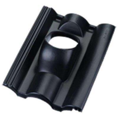 Ubbink pan neroma type 131mm Zwart