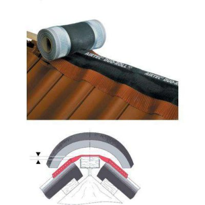 Ubbink airtec duo-roll rood