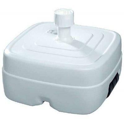 Parasolvoet wit vulbaar met water 50 liter