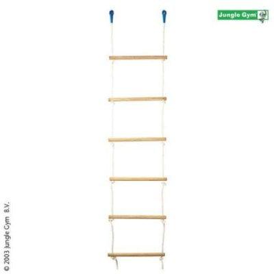 Jungle gym rope ladder