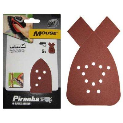Piranha mouse schuurstrook assortiment 20 delig X31029