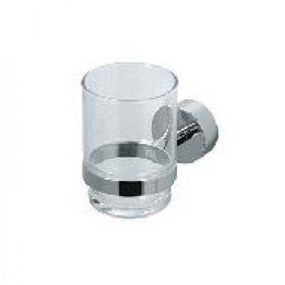 Murcia bekerhouder glas chroom