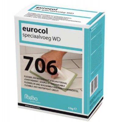 Eurocol speciaalvoeg 706 zilv grijs