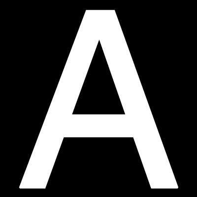 Pickup Plakletter 40mm Wit Lettertype Helvetica