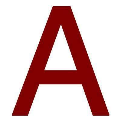 Pickup Plakletter 60mm Rood Lettertype Helvetica