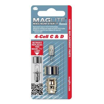 Maglite MagnumStarII Gloeilamp Xenon voor 4C en D Cell zaklamp