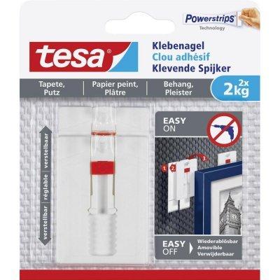 Tesa verstelbare spijker gevoelige tegels en metaal 77777 2 kg