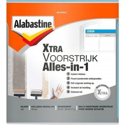 Alabastine Extra Alles in 1 voorstrijk wit 1000 ml