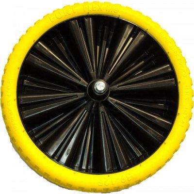 Altrad Fort kruiwagenwiel zwart geel 400 x 100 mm