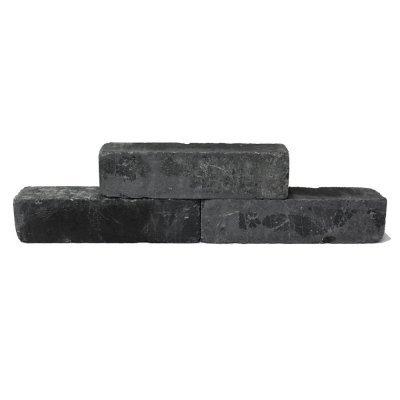 Stapelblok Linea Getrommeld 60x15x15cm Antraciet
