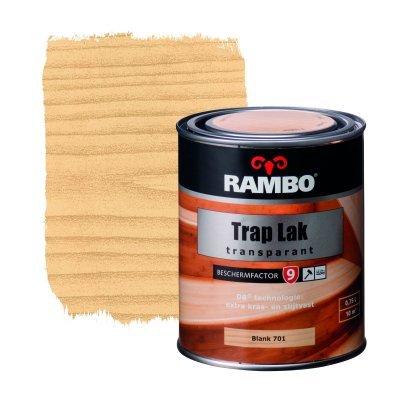 Rambo trap lak transparant 701