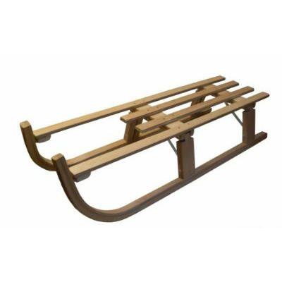 Slede hout opvouwbaar 110cm