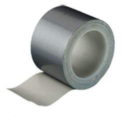 Textielband watervast grijs 38mm 4 meter