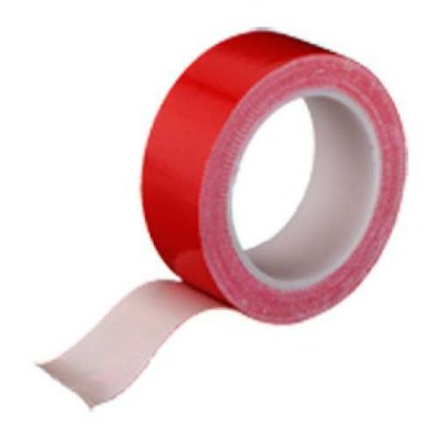 Textielband watervast rood 19mm 4 meter