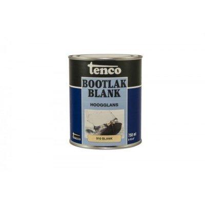 Touwen tenco bootlak blank 910 hoogglans 750ml