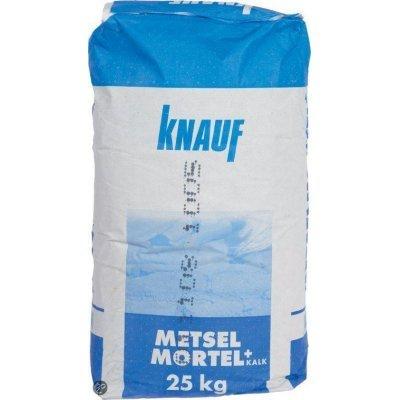 Knauf Metselspecie met Kalk 25 kg Kant en Klaar