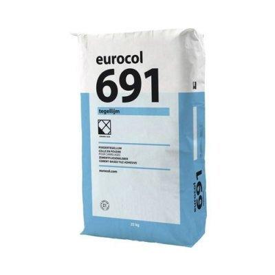 Eurocol tegellijm poeder 691 25kg