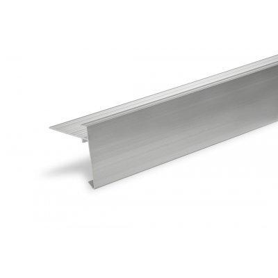Aluminium Daktrim 45x45mm 250cm