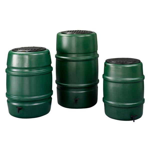 Harcostar Regenton compleet 168 liter GROEN Regentonnen