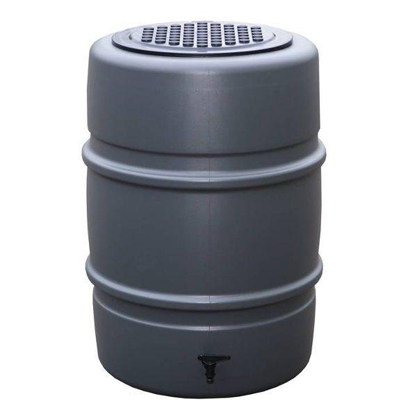 Harcostar Regenton compleet 168 liter Antraciet Regentonnen