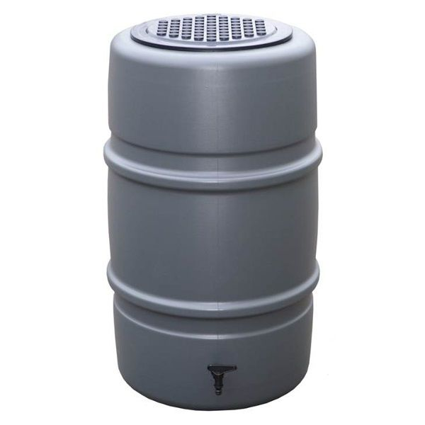 Harcostar Regenton compleet 227 liter Antraciet Regentonnen
