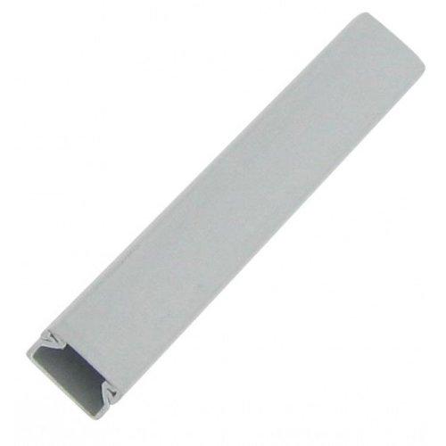 Kopp snoergoot Zilver zelfklevend 10x15mm 2 Meter