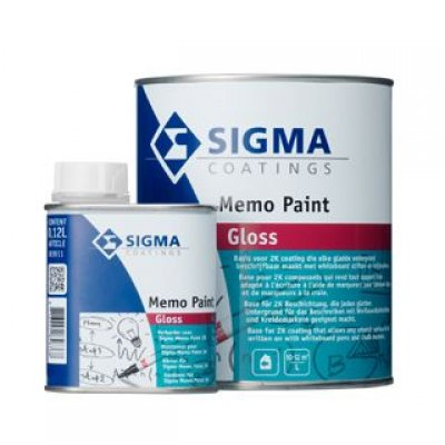 Sigma Memo Paint whiteboardverf 1120ml