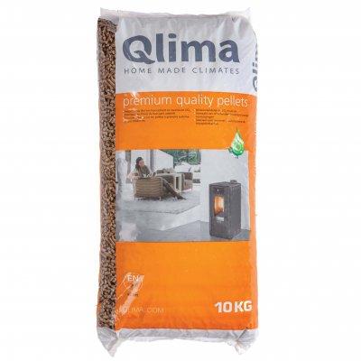 Qlima Houtpellets A1 EN+ 10kg