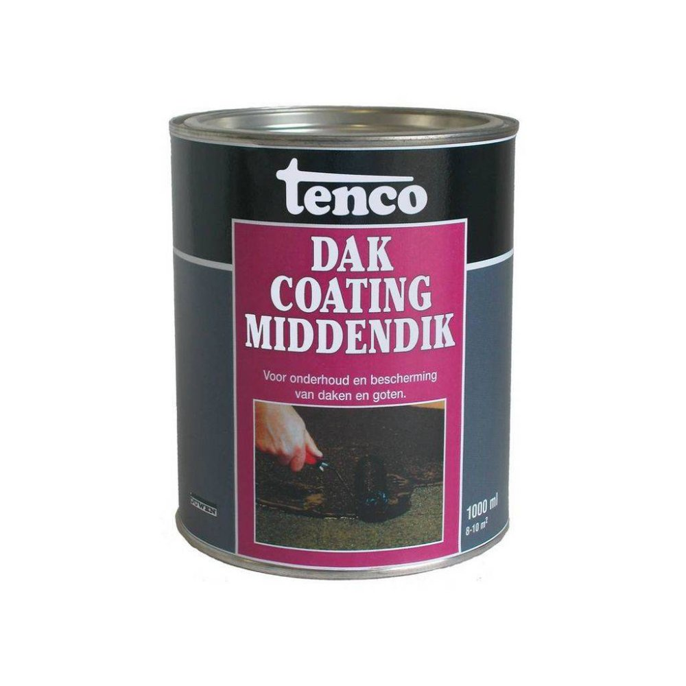 Tenco Middendik Dakcoating 1000ml